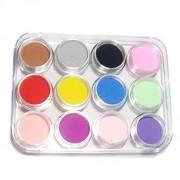 Mezclar Colores Acrylic Powder Builder Nail Art Set, Color Aleatorio