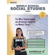 Praxis Middle School Social Studies 0089 Teacher Certification Study Guide Test Prep, Paperback/Sharon A. Wynne
