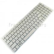 Tastatura Laptop Samsung NP300E5X alba
