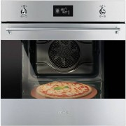 Smeg Classic SF6390XPZE Built In Electric Single Oven - Stainless Steel - A+ Rated