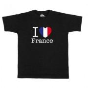 geschenkidee.ch Ländershirt Frankreich, Schwarz, XL, Mann