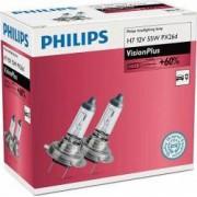 Set 2 becuri Philips H7 12V 55W PX26d Vision Plus