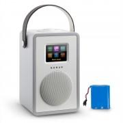 Numan Mini Two design, internetrádió, WiFi, DLNA, bluetooth, FM, szürke, tölthető akkumulátor mellékelve (60001795)