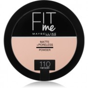 Maybelline Fit Me! Matte+Poreless матираща пудра цвят 110 Fair Ivory 14 гр.