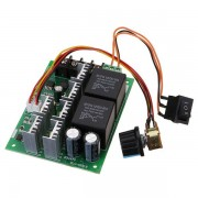CCW DC 10-50V 12/24/48V 60A PWM DC Motor Speed Controller CW CCW Reversible Switch