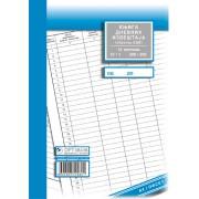 Knjiga evidencije dnevnih izveštaja A4 meki povez (obrazac EDI)