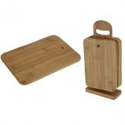 Ontbijtplank snijplank hout 7 delig