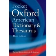 Pocket Oxford American Dictionary and Thesaurus, Paperback
