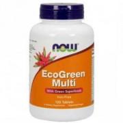 Еко грийн мулти - Eco Green Multi - 120 таблетки, NOW FOODS, NF3792