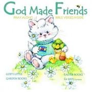 Easter Books for Kids: God Made Friends: Children's Christian Bible Verses Illustrated Storybook Euro Edition Children's Easter Books in Book, Paperback/God's Little Garden Books