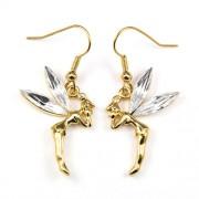 Pixie Swarovski kristályos fülbevaló - Arany színű