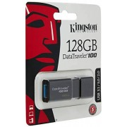 Kingston Digital 128GB DataTraveler 100 G3 USB 3.0 100MB/s Read, 10MB/s Write (DT100G3/128GB)
