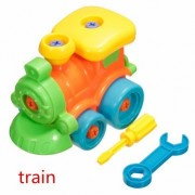 Generic Puzzle Building Toys Develop Learning Fun Tools NEW EDS Build A Train Kids Toy