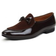 BUWCH Casual,Party wear,Mocassin Loafer For Men And Boys Brown Color Loafers For Men(Brown)