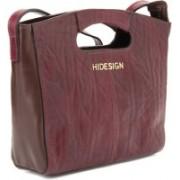 Hidesign Eames 04 Purple, Brown Hand-held Bag