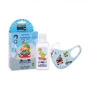 Eau My Dino Eau My Dino Desinfektion Handgel 100 ml + Mundschutz 1 St. für Kinder