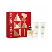 Emporio armani because it's you 50ml+gel de duche 75ml+leite de corpo 75ml - Giorgio Armani