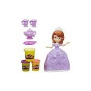 Massinha Play-doh Hora Do Chá Da Princesa Sofia A7398 Hasbro