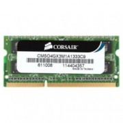 4GB DDR3 1333MHz, SODIMM, Corsair, доживотна гаранция