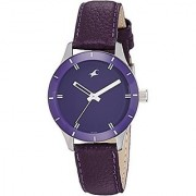 Fastrack Analog Purple Dial Womens Watch-6078SL05