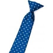 Chlapecká kravata modrá vzorovaná Avantgard 558-1568