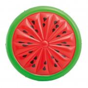 Saltea gonflabila Watermelon Island Intex, 183 x 23 cm, model pepene