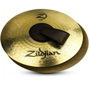 Zildjian PLZ16BPR Planet Z Series 16 Band Cymbals Pair Pratos de choque