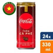 Coca Cola - Plus Koffie (Them Ca Phe ) 24x 330 ml