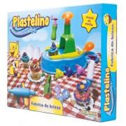 Plastelino - Set Fabrica de Briose, 4 culori