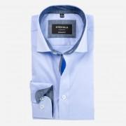 STEVULA Svetlomodrá košeľa s Non-iron, Regular fit Veľkosť: M 39/40