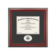 "Signature Announcements Rice-University Undergraduate, Doctorate esculpido Foil Sello Diploma de graduación Marco, 22"" x 30"", Cereza"