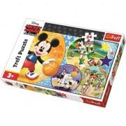 Puzzle Maxi Trefl, Disney Mickey Mouse, Este timpul pentru sport, 24 piese