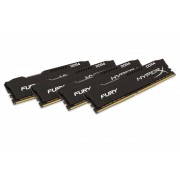 Kingston 16gb 2666mhz Ddr4 Non-ecc Cl15 Dimm (kit Of 4)hyperx Fury Black Series