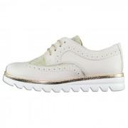 Pantofi piele naturala copii, fete - bej, auriu, Melania - ME6252F9E-C