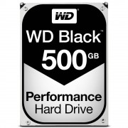 "Western Digital WD Black Performance Hard Drive WD5003AZEX - Disco rígido - 500 GB - interna - 3.5"" - SATA 6Gb/s - 7200 rpm - buffer: 64 MB"