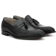 Clarks Twinley Free Black Weave Formal Shoes For Men(Black)