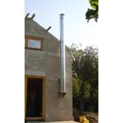 Tarnawa TARNAWA Nerezový dvojplášťový komínový systém v.2m/o150/uhol 90st./hrúbka 0,6 mm