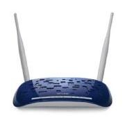 Modem Roteador TP-Link 300Mbps Wireless N ADSL2+ TD-W8960N