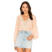 Free People Shimla top in Peach. - size XS (also in L,M,S)