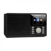 """Auna IR-160 Radio internet WiFi USB AUX UPnP 2.8"""" écran TFT télécommande - noir"""
