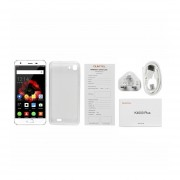 "OUKITEL K4000 Plus 5""HD 4100mAh 2GB+16GB 1.3GHz Quad-Core Teléfono Blanco Enchufe UK"