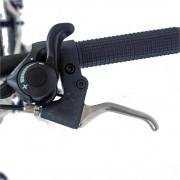 Bicicleta MTB-HT 26 Carpat Forester C2653B cadru otel albrosu