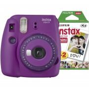 Cámara Instantánea Instax mini 9 + 20 films Púrpura Fujifilm