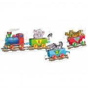 Puzzle Trenul cu numere Bino