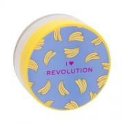 Makeup Revolution London I Heart Revolution Loose Baking Powder 22 g jemný púder pre zmatnenie a fixáciu make-upu pre ženy Banana