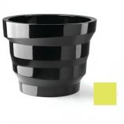 Plust Collection Vaso In Polietilene Rebelot 135 Altezza 102 Cm Verde Acido Laccato Indoor/Outdoor 6524-86