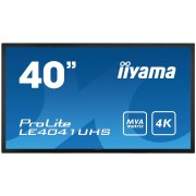 IIYAMA ProLite LE4041UHS-B1 Tv Led 40'' Classe LED segnaletica digitale 4K UHD nero