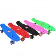 Скейтборд ABS (penny board) 22″ (56 см.) колела с LED светлина