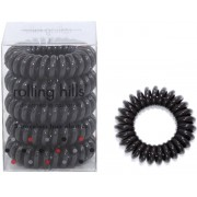 Rolling Hills Professional Hair Rings Dark Brown Haargummi