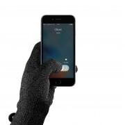 Mujjo Single Layered Touchscreen Gloves Size L - качествени зимни ръкавици за тъч екрани (черен)